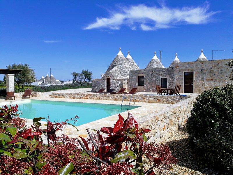 Il Torchio - Beautiful 3 bedroom, 3 bathroom Trullo in the countryside, casa vacanza a Martina Franca