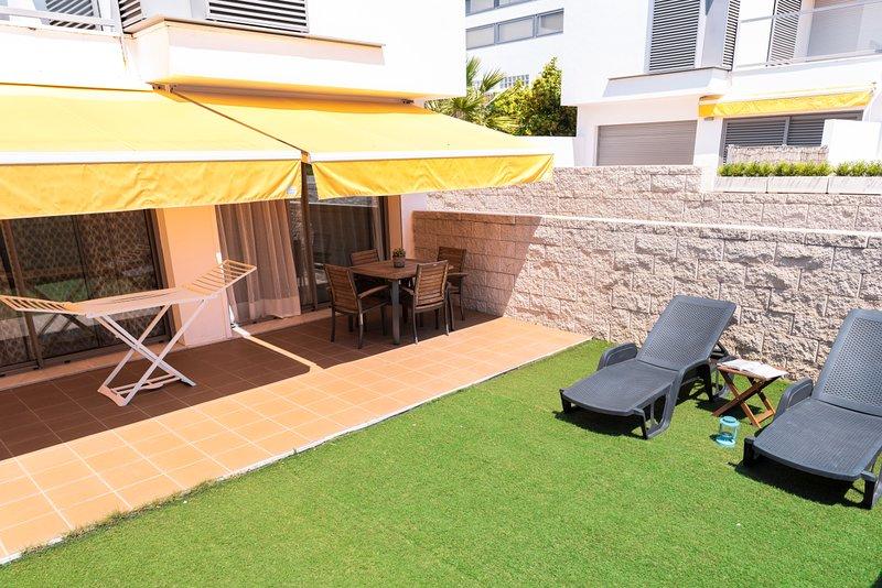 Jardín y terraza
