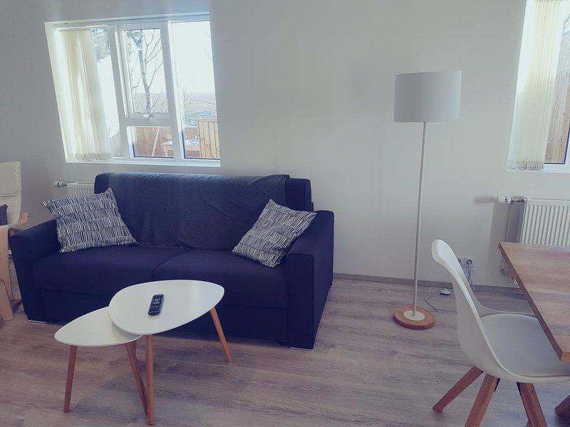 Hellatún guest house II, holiday rental in Kalfholt