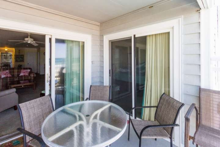 Enjoy morning coffee and view from your private balcony.