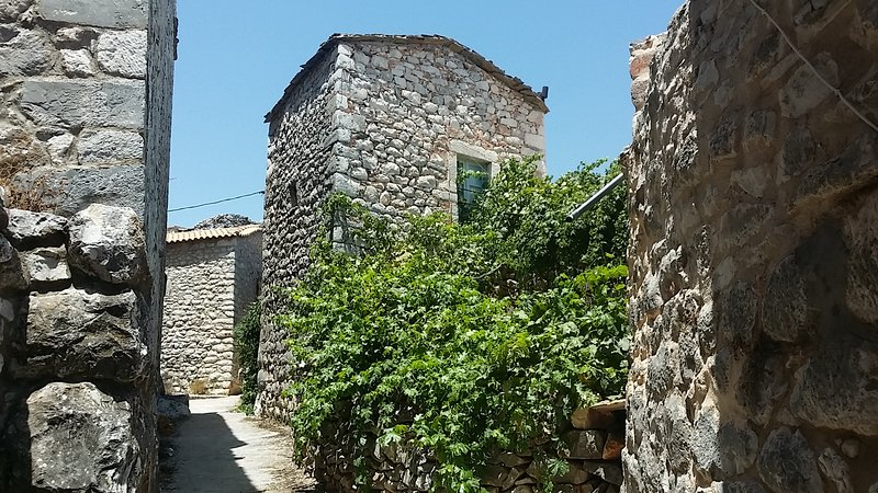 Old Tower-House in Mani peninsula, Peloponnese, location de vacances à Pagkia