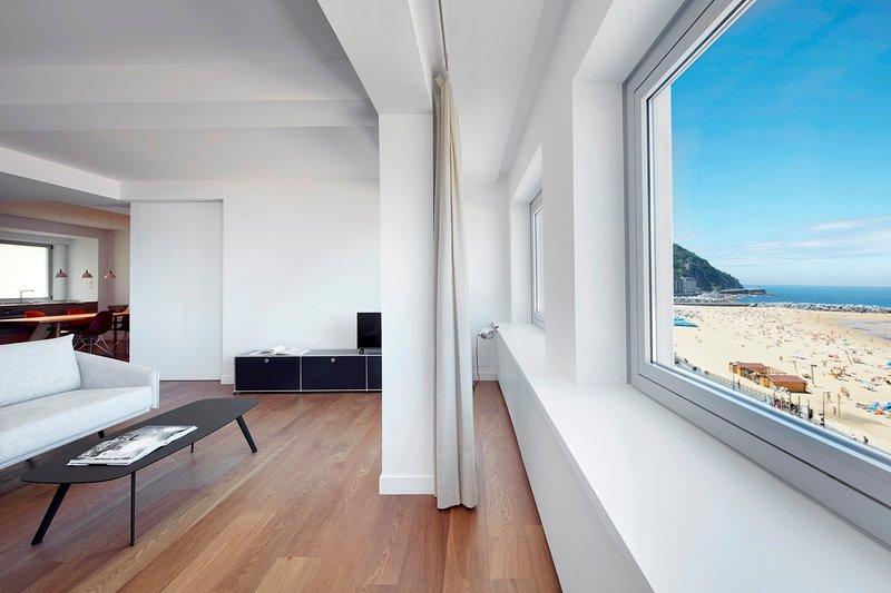 Washer Balcony San Sebastian Donostia Spain Holiday Rentals