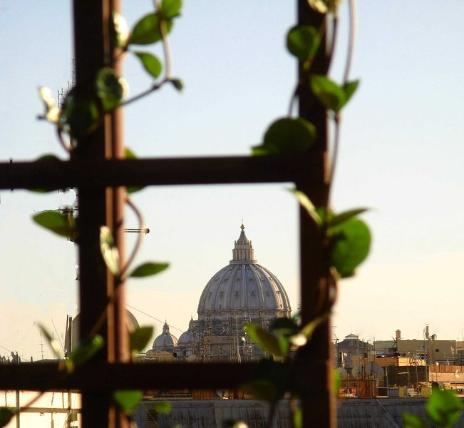 this is  a  view of San Peter Dome by  your terrace