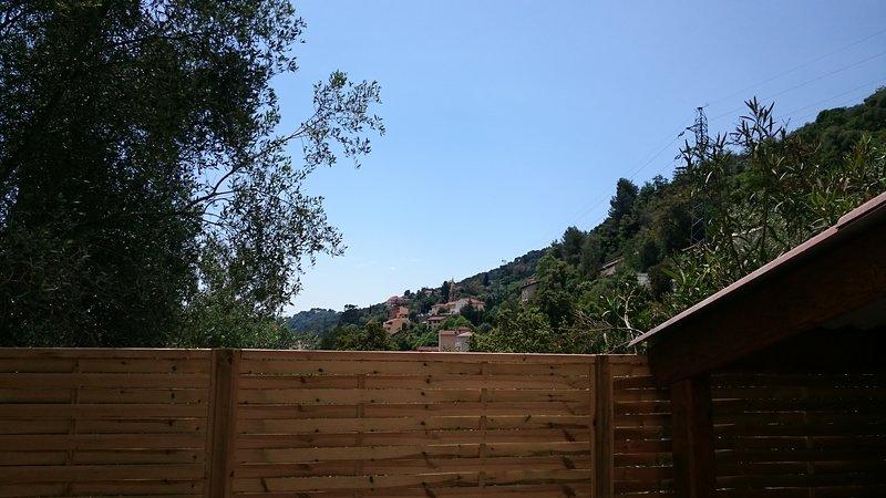 Gîte exceptionnel Menton ! Nature montagne, calme, holiday rental in Sospel