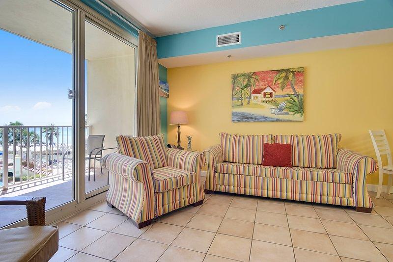 Shores of Panama 307-Sleeper Sofa