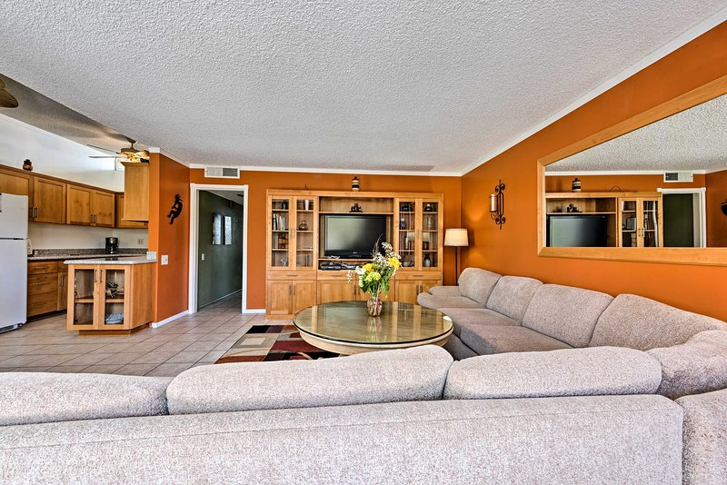Soak up the sun from this Palm Desert vacation rental condo!