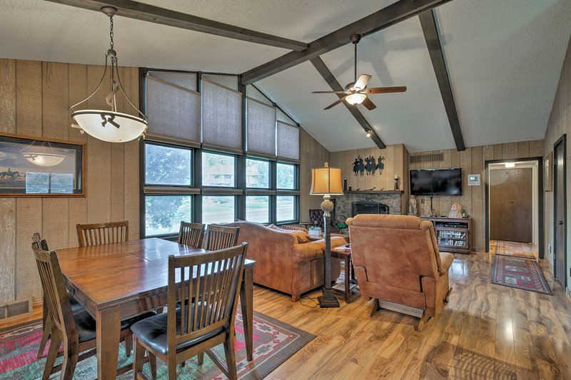 This 1,588-square-foot interior comfortably sleeps 8!