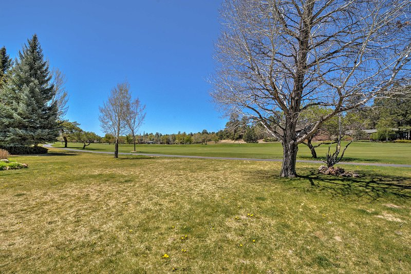 Play a quick round of golf at the Continental Country Club.