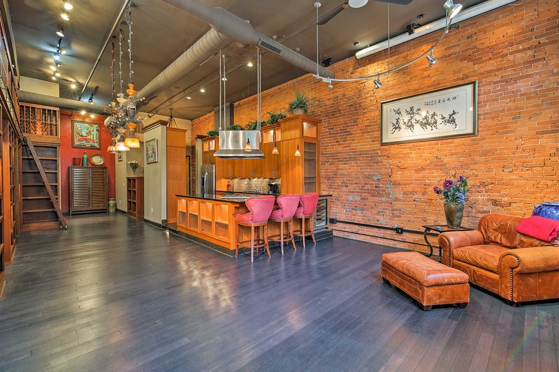 Experience Indianapolis from this loft-style condo in the heart of downtown!