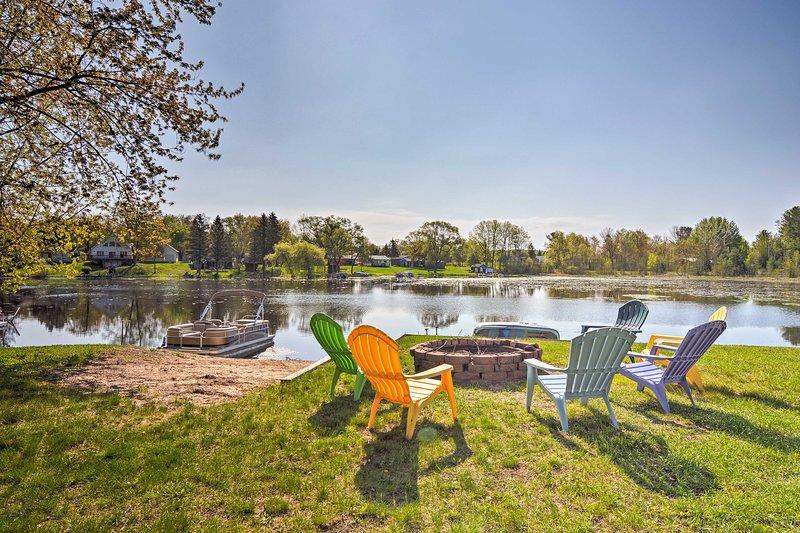 Disfrutar de este 3 dormitorios, 2 baños alquiler de vacaciones frente al lago!