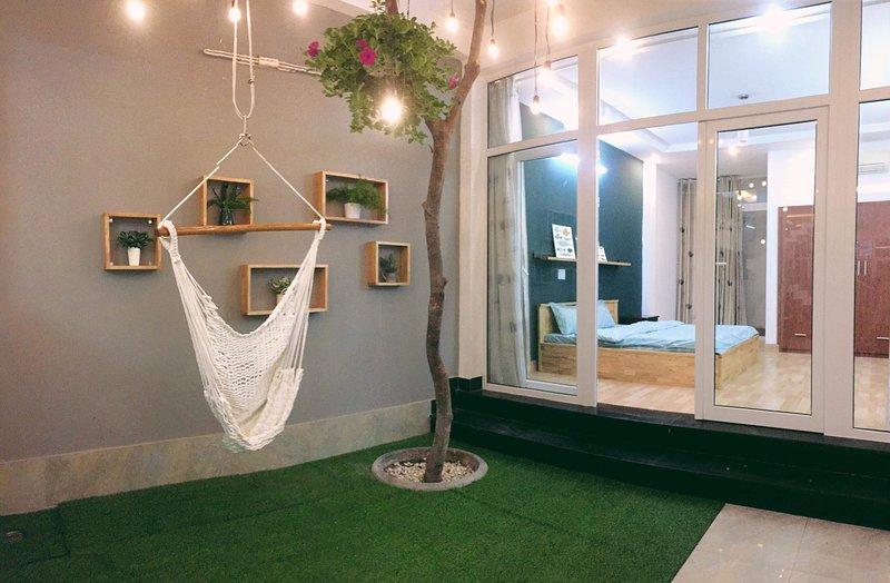 Un espace de détente et confortable