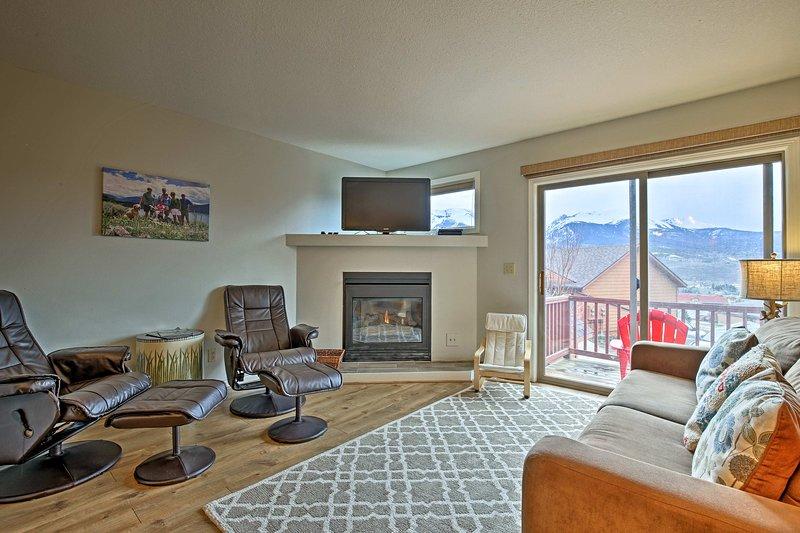 Découvrez votre prochaine escapade de station de ski de location vacances Dillon townhome!