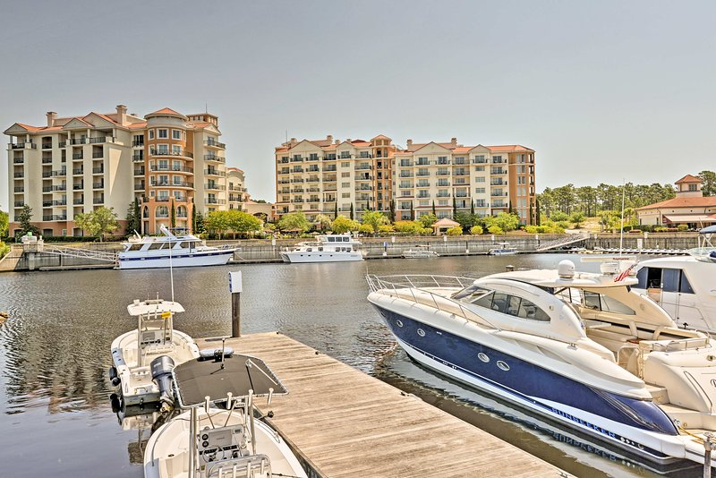 Enjoy yacht slip access, landscaped grounds, unparalleled views and more.
