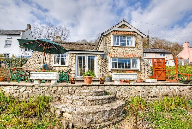 Außenansicht des Secret Garden Cottage