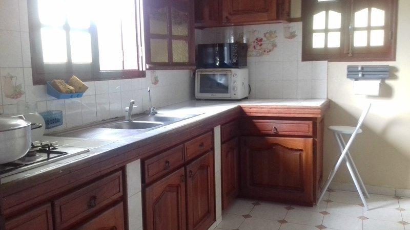 Nice apartment with sea view & Wifi, casa vacanza a Marigot