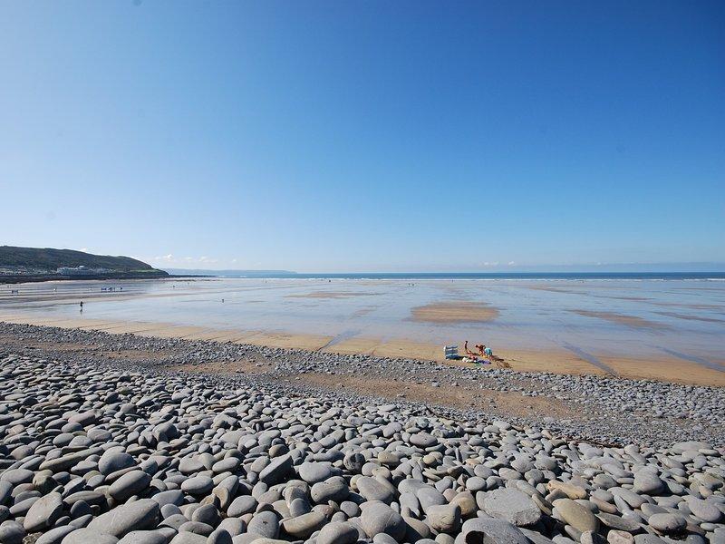 Westward Ho! beach within walking distance