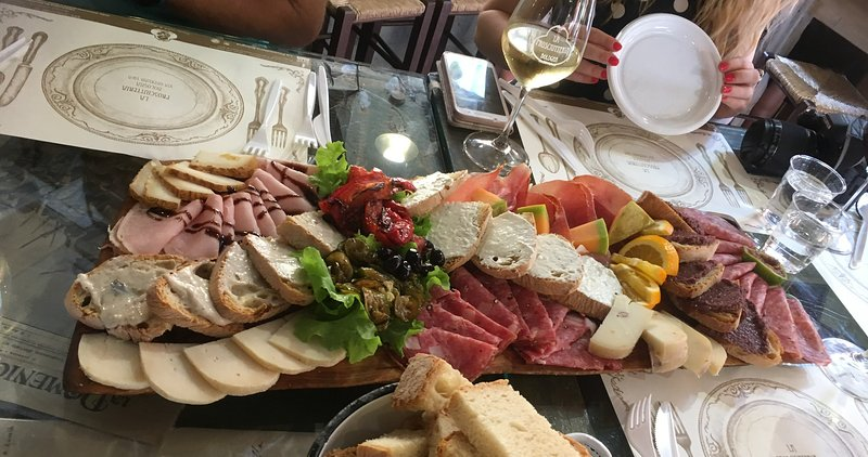 Snacking in Bologna!