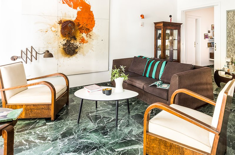 Enjoy the beautifully restored, mid century apartment