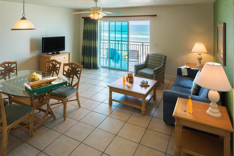 Coconut Palms Beach Resort II Living Area