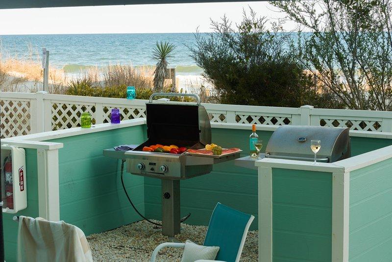 Sandpebble Beach Club Grilling Time