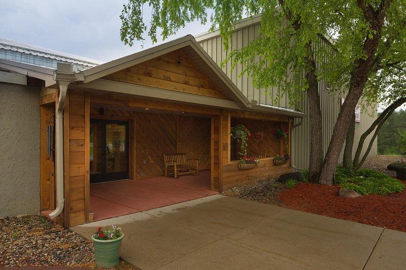 Tamarack and Mirror Lake Resort Reception Office