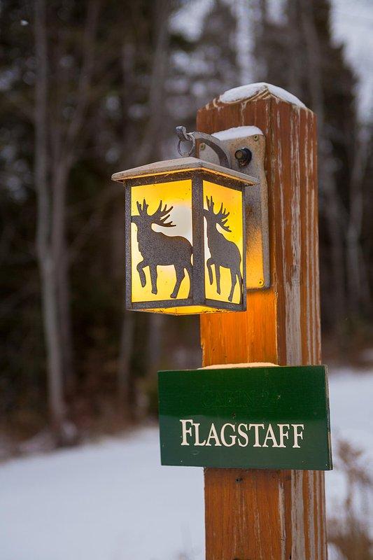 Rangeley Lake Resort Signage
