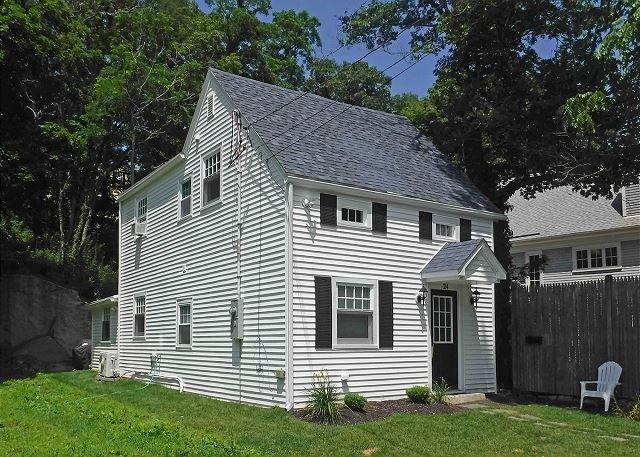Exterior of Squam Cottage.
