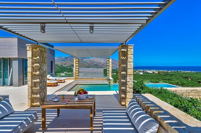 cadre exceptionnel en Crète occidentale