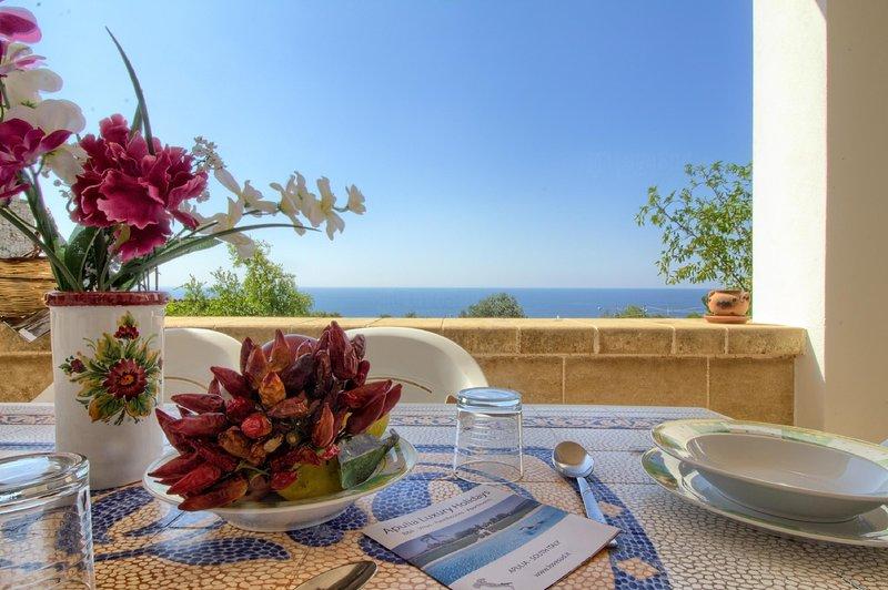 Madrigale mare vicino, holiday rental in Marina di Felloniche