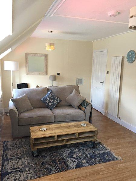 Fresh open plan living area