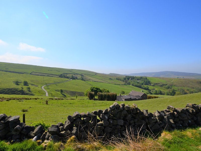 View towards this beautiful rural cottage