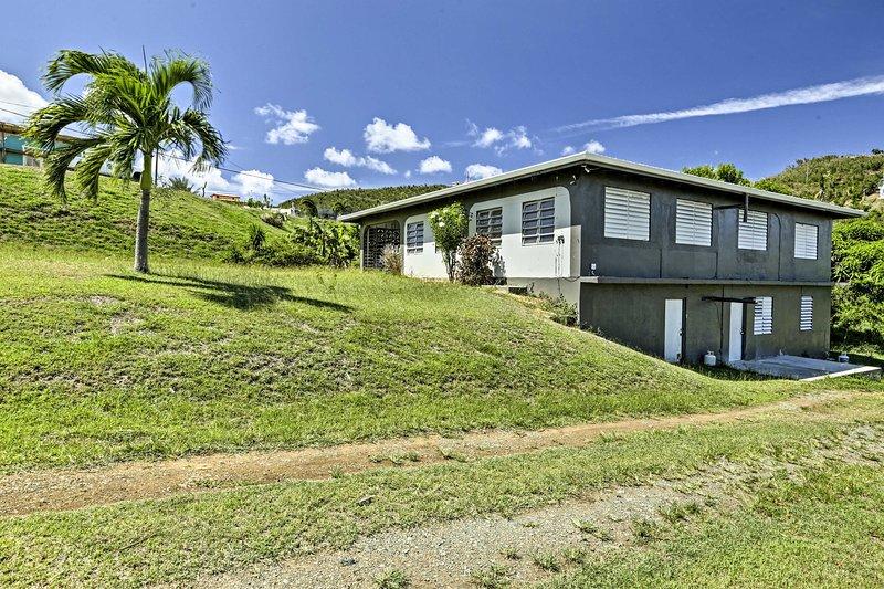 Évadez-vous dans les Caraïbes et de rester dans cette maison de location de vacances Frederiksted!
