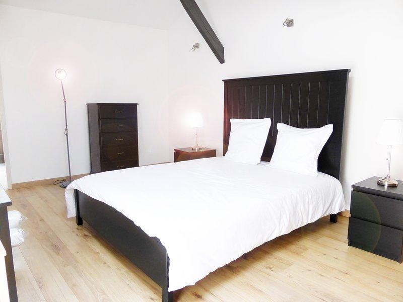 Les Logis des Vignobles Appartement Duplex 1, vacation rental in Saint-Etienne-De-Lisse