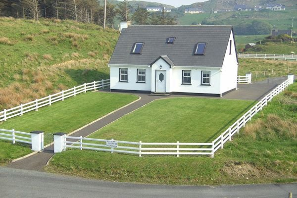 Cottage Número 1: vistas Portnacross puerto (para 6)