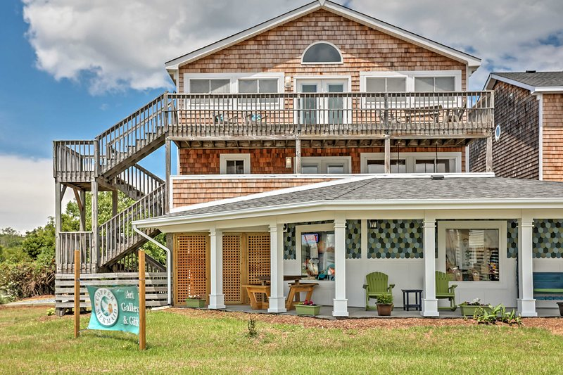 Experience the best of Nags Head when you stay at this bright and welcoming 5-bedroom, 4-bathroom vacation rental house!