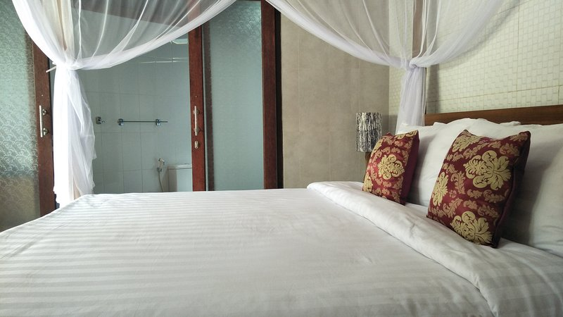 Family room with tween double bed, holiday rental in Petulu