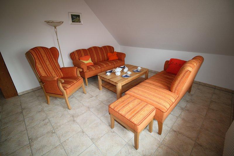 Sala de estar com móveis Ostfriesen originais