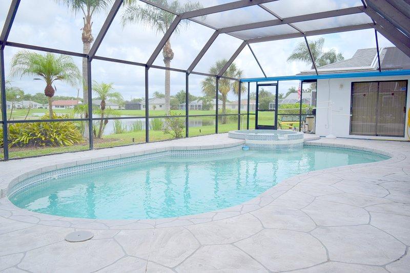 Solarbeheizten Pool