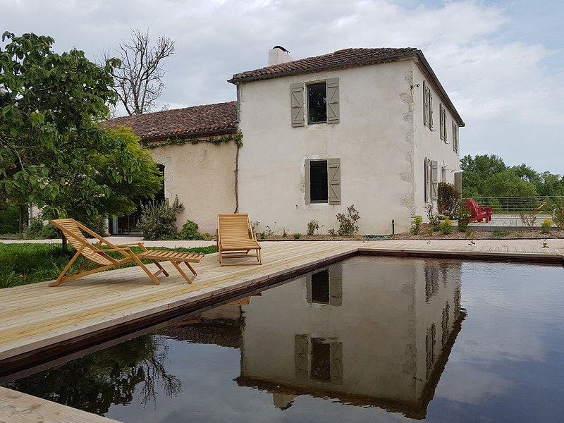 Lassenat eco guest house, guest rooms, guest table, ecological pool, Vic-Fezensac, Gers