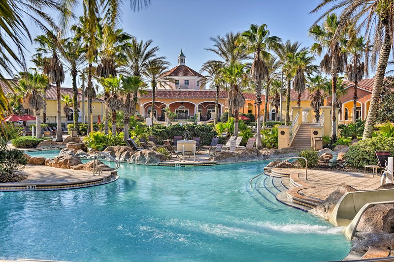 Resort amenities await at this vacation rental townhome located in Regal Palms!
