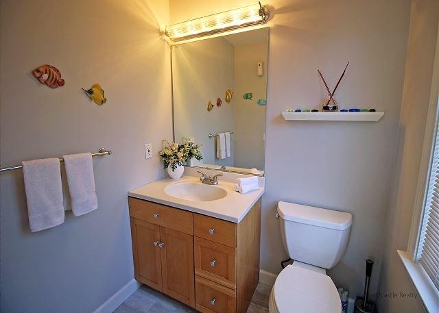 Segundo piso medio baño