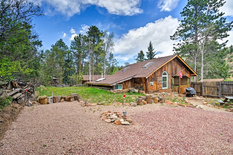 Look forward to a memorable stay at this Colorado cabin!