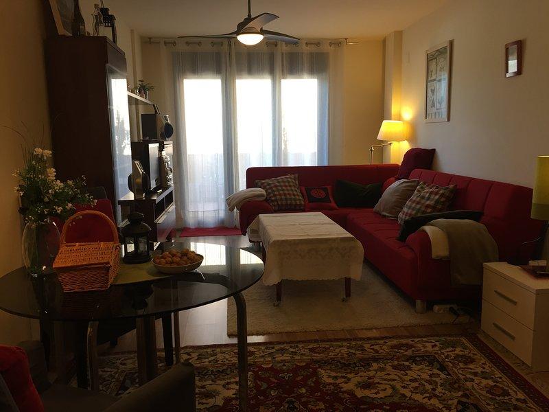 Apto. con terraza de 40m2 con vistas a la villa y a la Sierra de Partara, casa vacanza a Banaston
