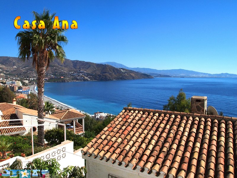 View to Casa Ana and the sea