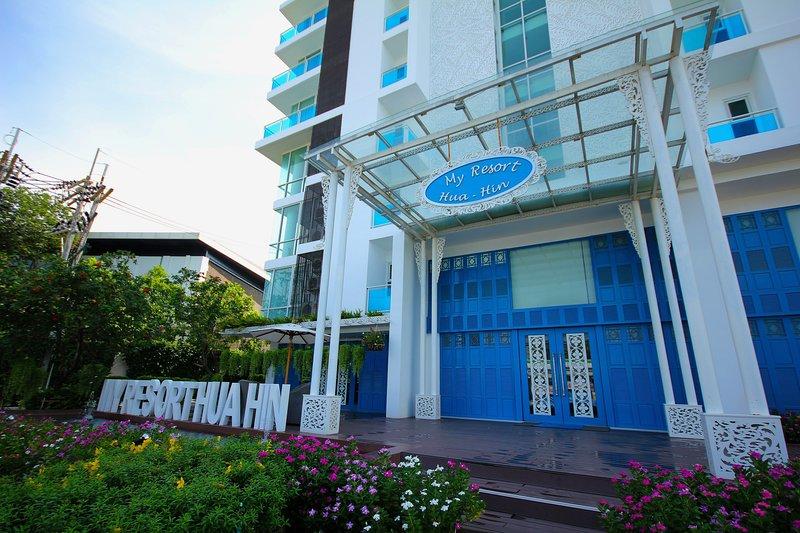 My Resort Hua Hin - 2 Bed 2 Bath Pool View D604, alquiler vacacional en Ban Khao Takiap