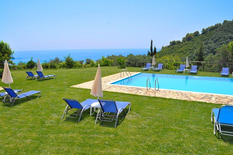 Studio Apartments Escape , Swimming Pool - Pelekas Beach, holiday rental in Pelekas