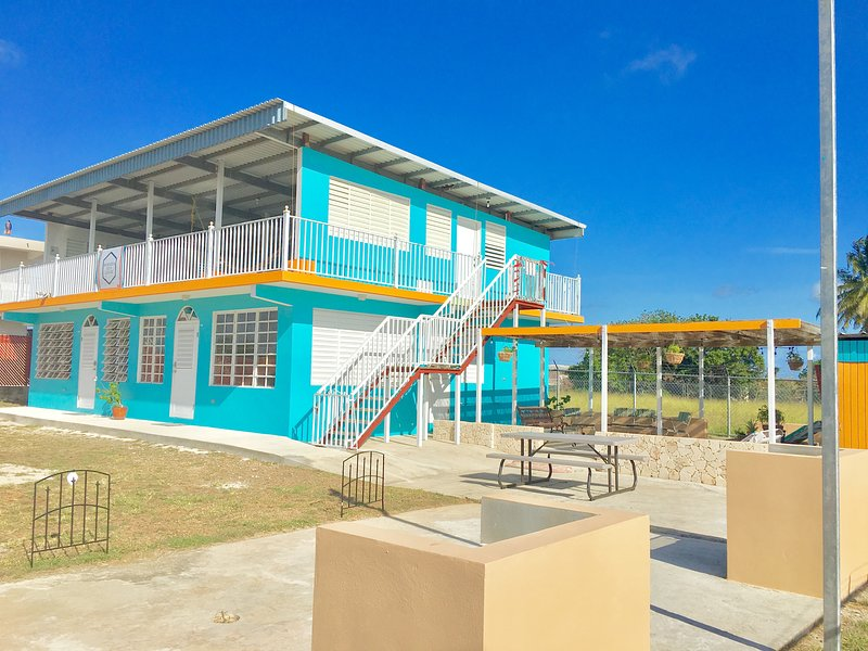 We are the most sustainable vacation beach rental in Western PR!