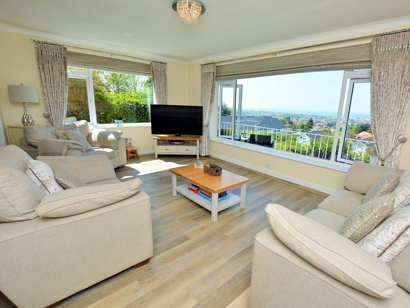 Embrace the sea views at this stylish property
