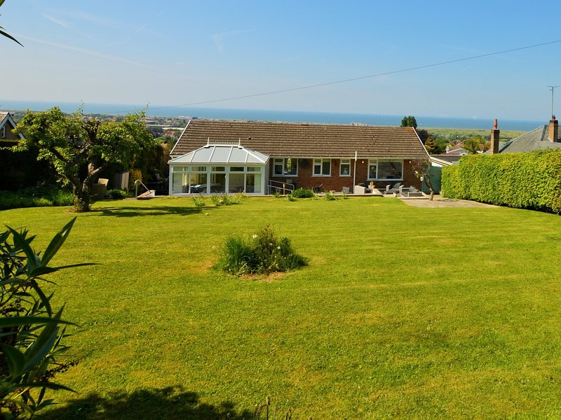 View towards the property and panoramic seascape beyond