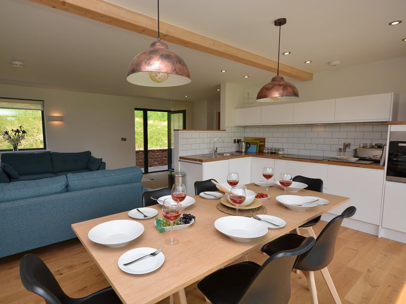 Bright and light open-plan area